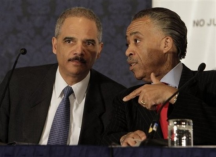 Attorney General Eric Holder and Rev Al Sharpton